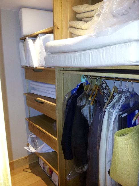 B nisterie menuisier pour le dressing placards amenagement cuisine et salle de bain - Dressing ferme ...