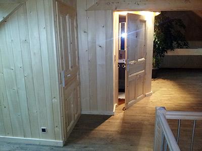 Menuisier porte en bois massif pr s de quingey et saint vitt du jura doubs - Lambris style ancien ...